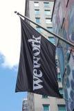 WeWork Στοκ εικόνα με δικαίωμα ελεύθερης χρήσης