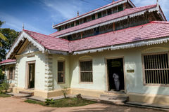 Wewrukannala佛教寺庙在斯里兰卡 库存图片