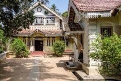Wewrukannala佛教寺庙在斯里兰卡 免版税库存照片