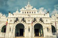 Wewurukannala Vihara寺庙在Dickwella,斯里兰卡 库存图片