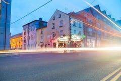 Wexford en la noche fotografía de archivo libre de regalías