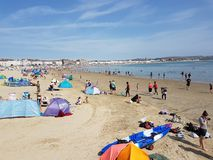 Weymouth fotografia royalty free