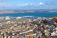 Weymouth Bay in Dorset England Stock Image