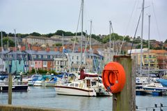 Weymouth Dorset Engeland stock afbeeldingen