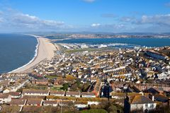 Weymouth Dorset Engeland Stock Afbeelding