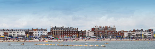 Weymouth Esplanade Royalty Free Stock Photography