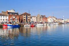 Weymouth-Hafen Dorset Lizenzfreie Stockbilder