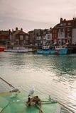 Weymouth hamn i Dorset Fotografering för Bildbyråer