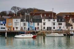 Weymouth hamn i Dorset Royaltyfri Bild
