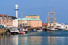 Weymouth Harbour Dorset Stock Photography