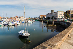 Weymouth Harbour Dorset Royalty Free Stock Images