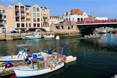 Weymouth Harbour Dorset Stock Images