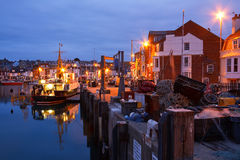 Weymouth harbour in Dorset. Royalty Free Stock Photo
