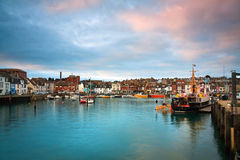 Weymouth harbour in Dorset. Stock Photography