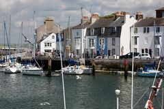Free Weymouth Harbour, Quayside And Boats, Dorset, England. Stock Photo - 171486900