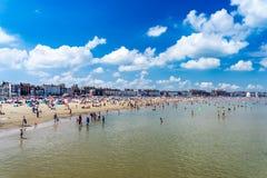 Weymouth plaża Dorset Anglia fotografia royalty free