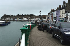 Weymouth Quayside. Weymouth Harbour Dorset Stock Photos