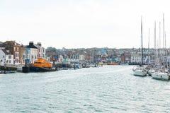 Weymouth, Reino Unido - o 18 de julho 2017: rio britânico bonito vi fotos de stock