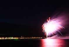 Weymouth seafront celebrations Stock Image