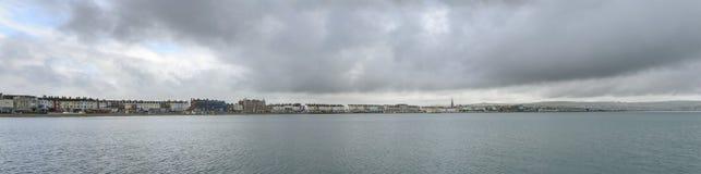Weymouth-Seefront, Dorset Stockbilder