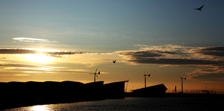 Weymouth windmills Royalty Free Stock Image