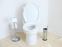 wezbrana toaleta Obrazy Royalty Free