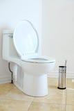 wezbrana toaleta Zdjęcia Royalty Free
