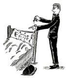 wezgłowie lekarka royalty ilustracja
