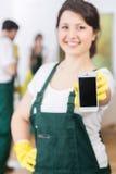 Wezwanie dla najlepszy housekeeping obraz royalty free