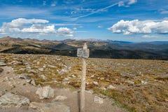 Wezwanie Skalistej góry park narodowy obrazy royalty free