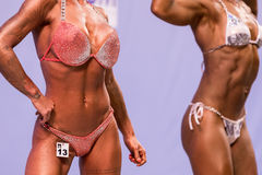 2017 WFF Mediterranean Games Bodybuilding and Fitness Royalty Free Stock Images