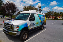 WGAL Channel 8 NBC News Van Royalty Free Stock Images