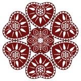 Węgierski ludowy ornament Fotografia Royalty Free