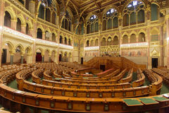 Węgierski parlamentu budynek w Budapest Zdjęcia Royalty Free