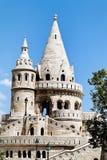 Węgry, Budapest, rybaka bastion. Zdjęcia Royalty Free