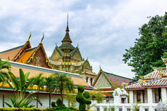 Wha pho in Bangkok Royalty Free Stock Image