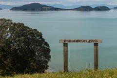 Whakakaiwhara point at duder regional park Stock Photos