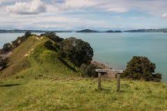 Whakakaiwhara Point in Duder Regional Park Stock Photography