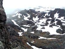 Whakapapa Ski Field, Herre av cirkelläget Fotografering för Bildbyråer