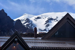 Whakapapa Tongariro för nationell park- skifield Fotografering för Bildbyråer