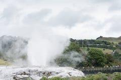 Whakarewarewa The Living Maori Village Stock Photo