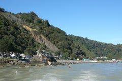 Whakatane schronienie w zatoce obfitość, Nowa Zelandia fotografia royalty free