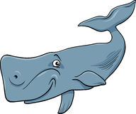 Whale animal cartoon illustartion Stock Image
