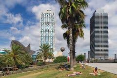 Whale Barcelona Spain Royalty Free Stock Photo