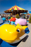 Whale car carnival ride Stock Photos