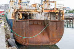 Whale catcher vessel Stock Image