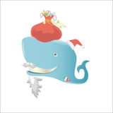 Whale Claus Stock Photography