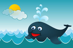 The Whale Royalty Free Stock Images
