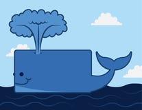Whale Ocean Stock Photo