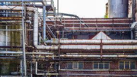Whale oil refinery Royalty Free Stock Photography